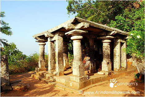 Temple of Nandi (Bull) at Nandi Hills.